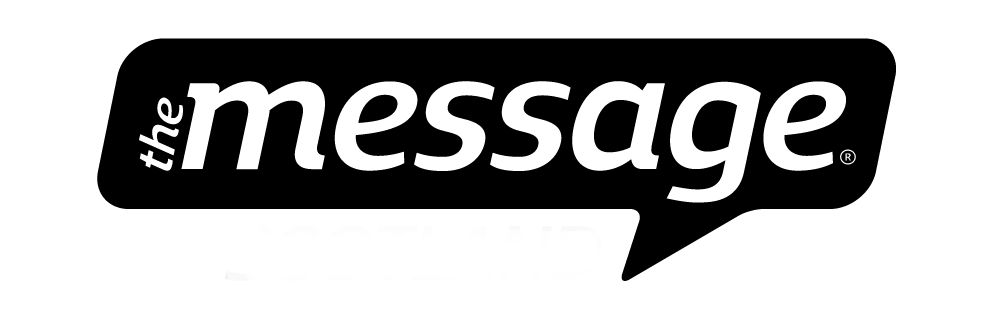 Message logo black